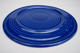 Original Cobalt Blue Vintage Fiesta Cake Plate Fiestaware For Sale Old Authentic