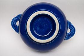 Vintage Fiesta Cream Soup Bowl Original Cobalt Fiestware