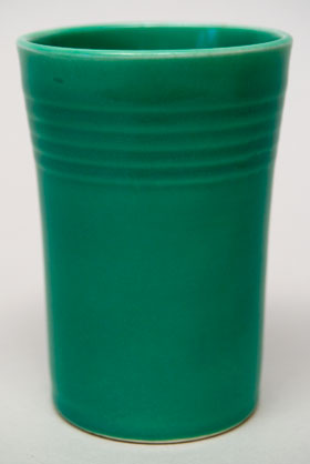 Green Vintage Fiesta Juice Tumbler Fiestaware Pottery For Sale