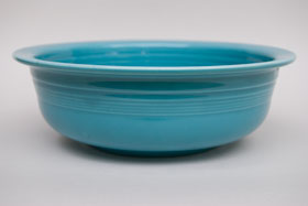 Vintage Fiesta Original Turquoise Nappy Vegetable Serving Bowl  Fiestaware Pottery Vase: Gift, Rare, Hard to Find, Buy Onlline Now, American Antique Pottery
