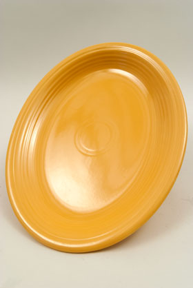 Original Yellow Vintage Fiesta Large Oval Platter