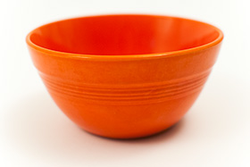 Radioactive Red Vintage Harlequin 36s Bowl 30s 40s Homer Laughlin American Dinnerware Solid Color Mix-n-Match