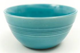 Turquoise Vintage Harlequin 36s Bowl 30s 40s Homer Laughlin American Dinnerware Solid Color Mix-n-Match