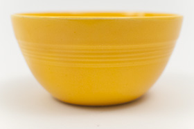 Yellow Vintage Harlequin 36s Bowl 30s 40s Homer Laughlin American Dinnerware Solid Color Mix-n-Match