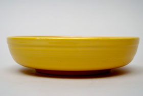 Fiestaware Yellow Dessert Bowl