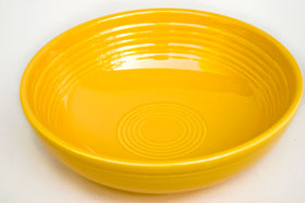 Fiesta Vintage Original Yellow Individual Salad Bowl: Fiestaware For Sale