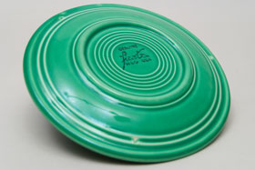 Vintage Fiesta Light Green 7 Inch Plate  Fiestaware Pottery Vase: Gift, Rare, Hard to Find, Buy Onlline Now, American Antique Pottery