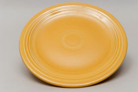 Vintage Fiesatware Plate in Original Yellow
