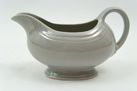 50s Gray Vintage Fiestaware Sauce Boat For Sale