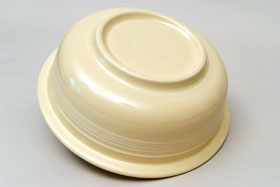 Vintage Fiesta Original Ivory Nappy Vegetable Serving Bowl  Fiestaware Pottery Vase: Gift, Rare, Hard to Find, Buy Onlline Now, American Antique Pottery