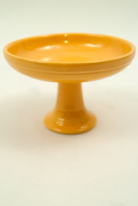 Fiestaware Vintage Original Yellow Sweets Comport FIesta Pottery For Sale