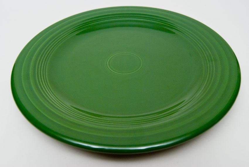 Fiesta 50s Forest Green 10 Inch Plate Vintage Fiestaware