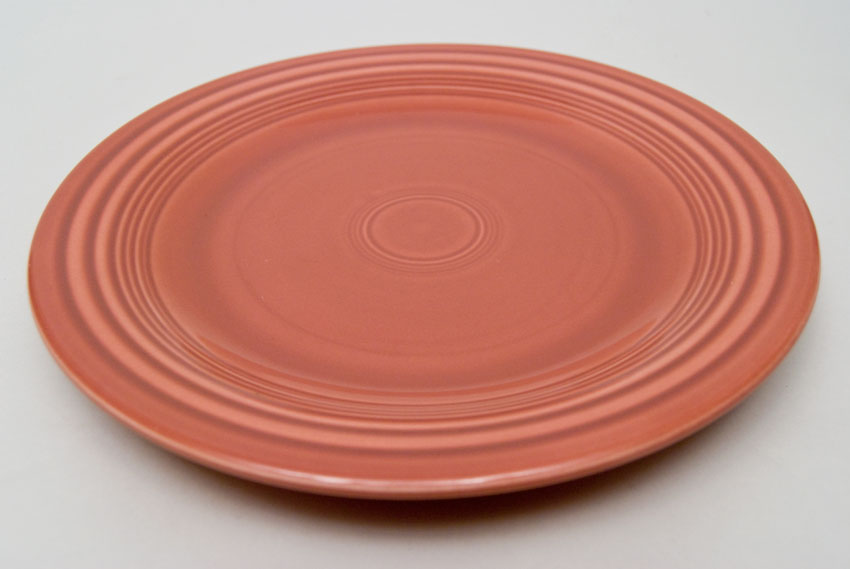 ... 50s Rose Fiesta 10 inch Dinner Plate Fiestaware Pottery For Sale & Fiesta 50s Rose 10 inch Plate Vintage Fiestaware For Sale