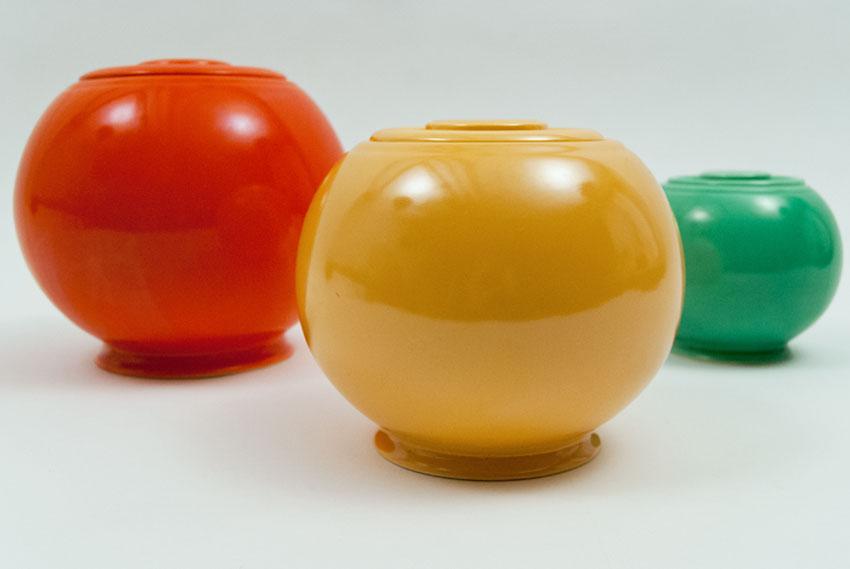 ... Original Yellow Fiesta Kitchen Kraft Medium, Ball Jar, Covered Jar  Fiestaware Pottery For Sale
