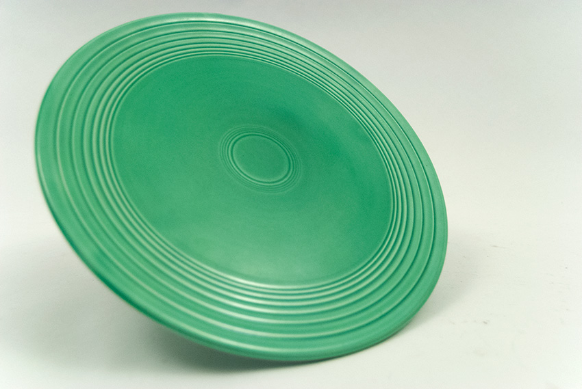 Original Light GreenVintage Fiesta Cake Plate Fiestaware For Sale Old Authentic ... : fiesta cake plate - pezcame.com