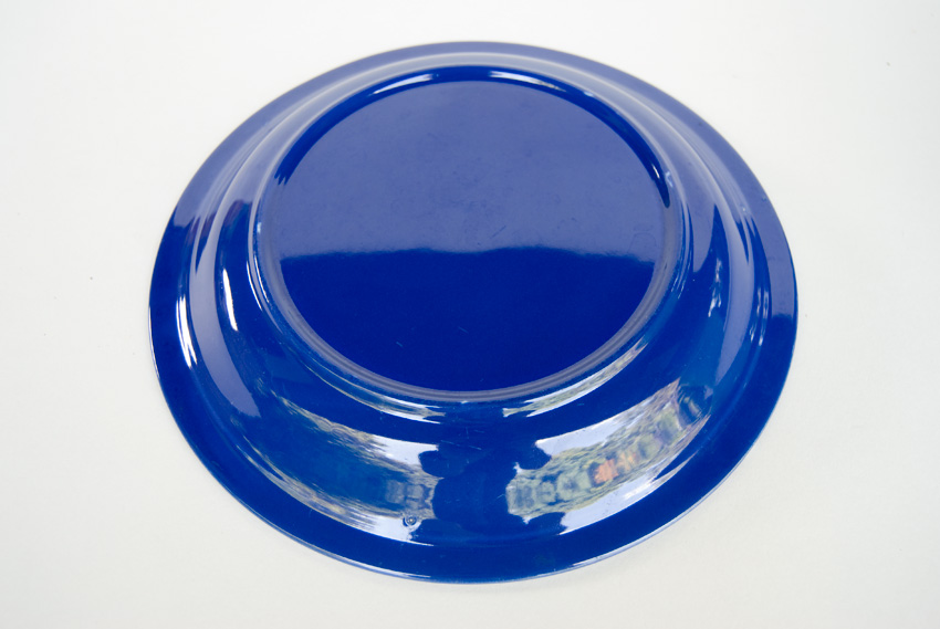 ... Fiesta Kitchen Kraft Pottery Cobalt Pie Plate Baker For Sale & Vintage Fiesta Kitchen Kraft Pie Plate in Original Cobalt For Sale
