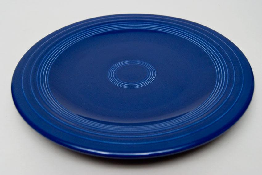 ... Original Cobalt Blue Fiesta 10 inch Dinner Plate Fiestaware Pottery For Sale & Fiesta Original Cobalt Blue 10 inch Plate Vintage Fiestaware For Sale