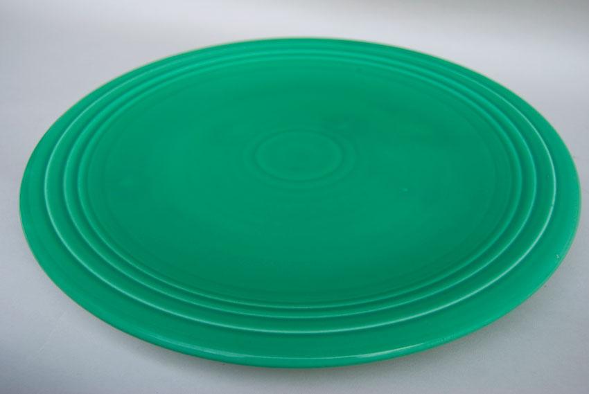 Original Green Fiesta 15 Inch Chop Plate Fiestaware