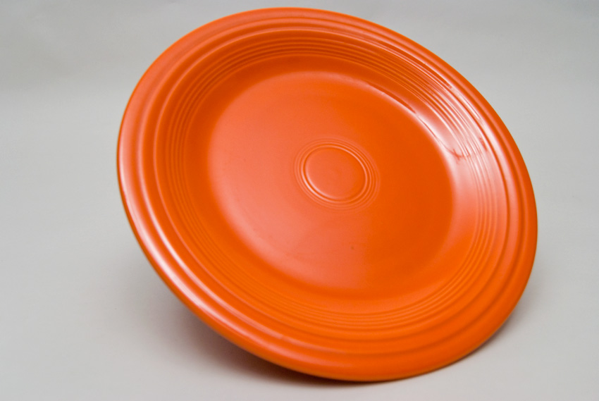 Radioactive Red Fiesta 10 inch Dinner Plate Fiestaware Pottery For Sale ...  sc 1 st  Vintage Fiesta Pottery & Fiesta Radioactive Red 10 inch Plate Vintage Fiestaware For Sale