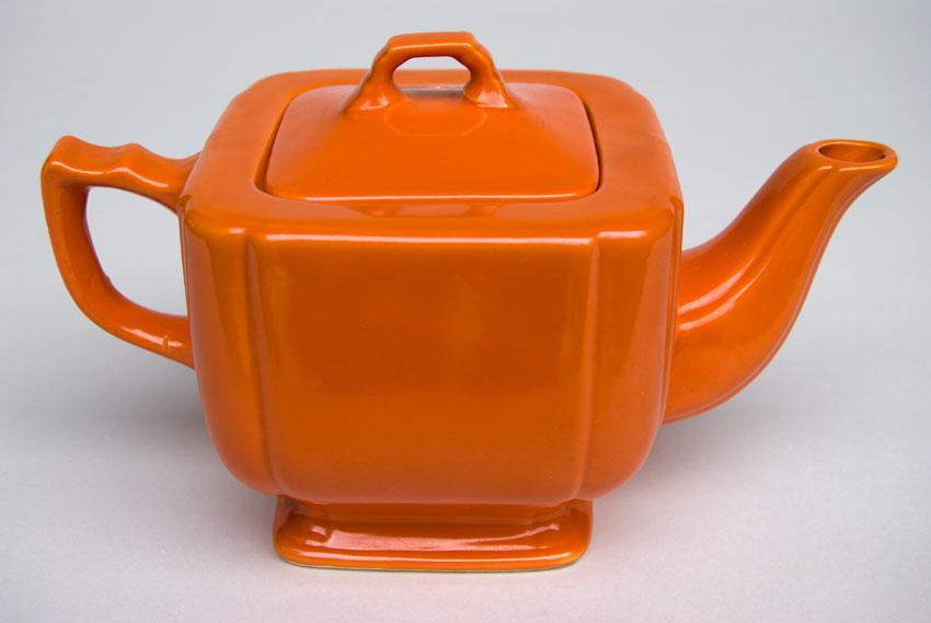Riviera Pottery Original Radioactive Red Early Variation