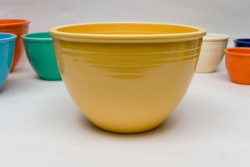 Vintage Fiesta Nesting Bowl Number Seven in Yellow in Original Glaze ...