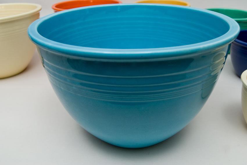 Vintage Fiesta Nesting Bowl Number Seven in Turquoise in Original ...