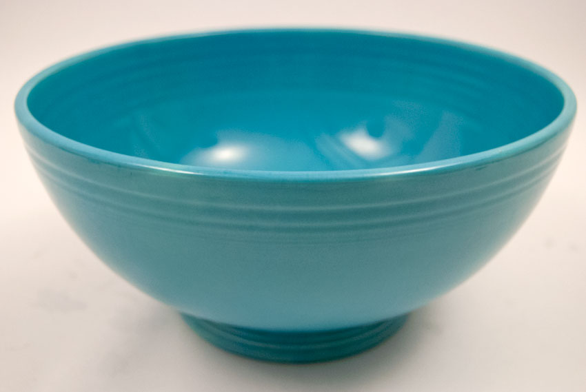 Vintage Fiestaware Large Footed Salad Bowl In Original