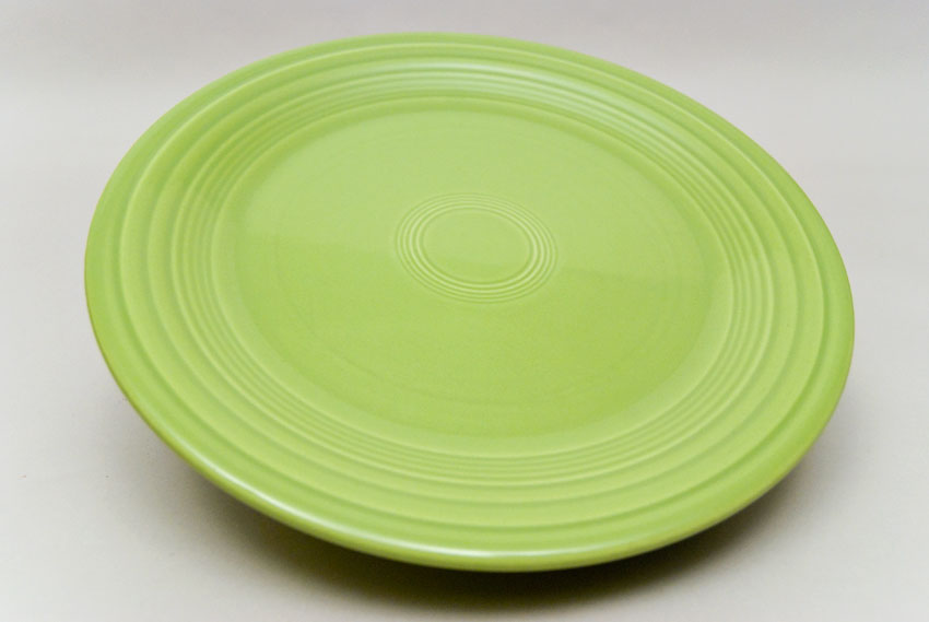 ... Vintage Fiesta Chartreuse 10 inch Dinner Plate Fiestaware Pottery Vase Gift Rare Hard : 9 inch dinner plates set - pezcame.com