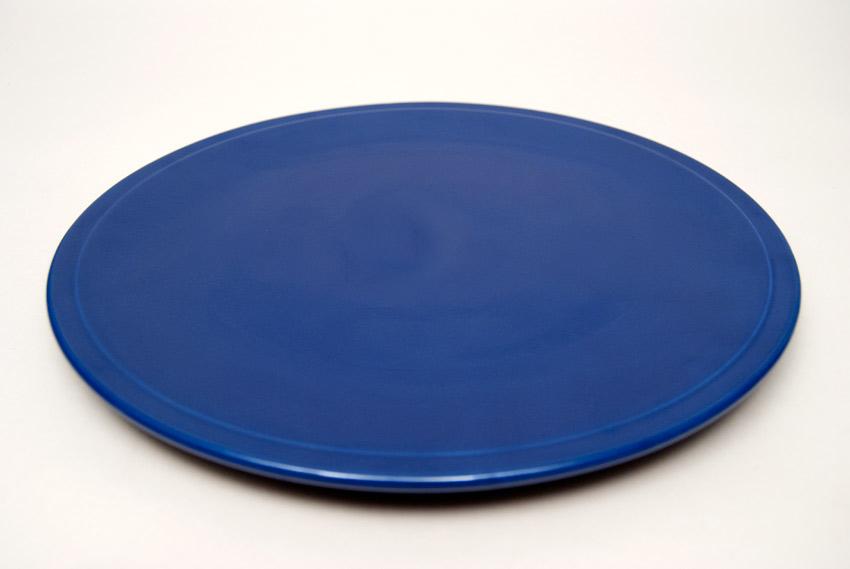 Kitchen Kraft Cake Plate in Original Cobalt Hard to Find Go-Along Fiestaware Pottery ... & Kitchen Kraft Cake Plate in Original Cobalt Fiestaware Pottery For ...