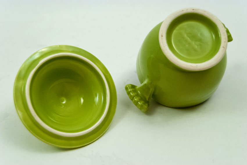 Vintage Fiestaware Lidded Sugar Bowl In Original