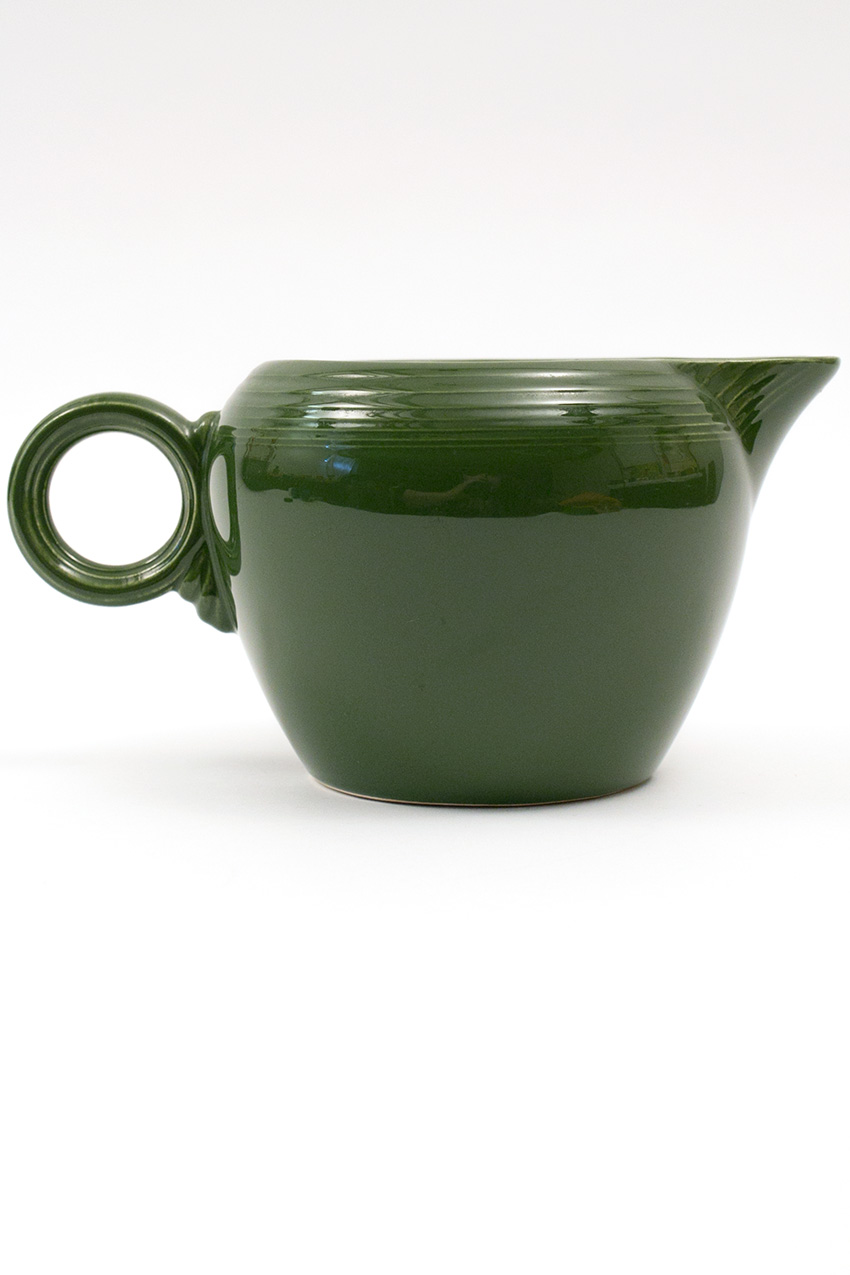 Vintage Fiestaware 50s Forest Green 2 Pint Jug For Sale Antique Fiesta Pottery Americana Dinnerware ...  sc 1 st  Vintage Fiesta Pottery & Vintage Fiesta Pottery: 2 Pint Jug in 50s Forest Green