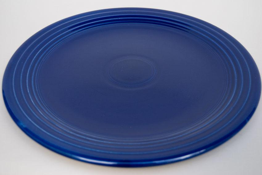 Original Cobalt Blue Vintage Fiestaware Cake Plate