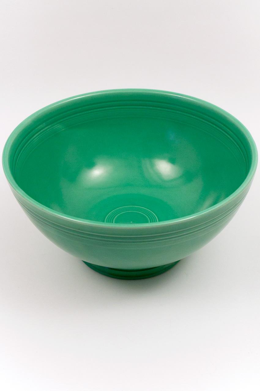 Vintage Fiestaware Large Footed Salad Bowl In Original