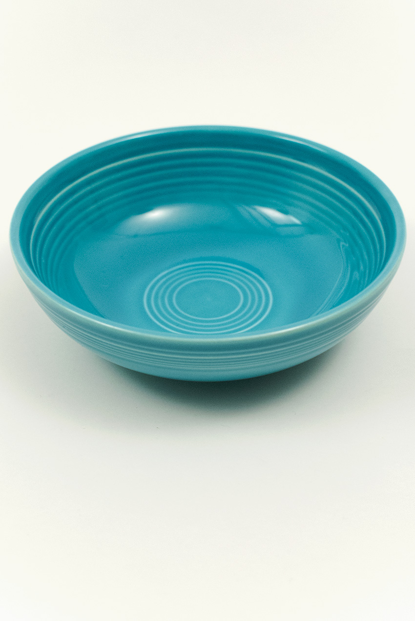Fiesta Vintage Turquoise Individual Salad Bowl For Sale