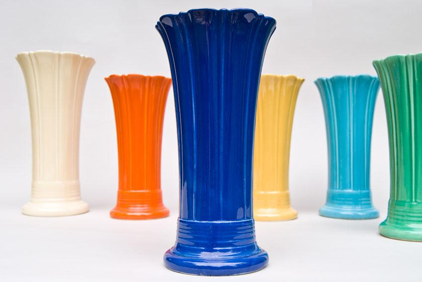 Vintage Fiesta 10 inch Original Cobalt Fiestaware Pottery