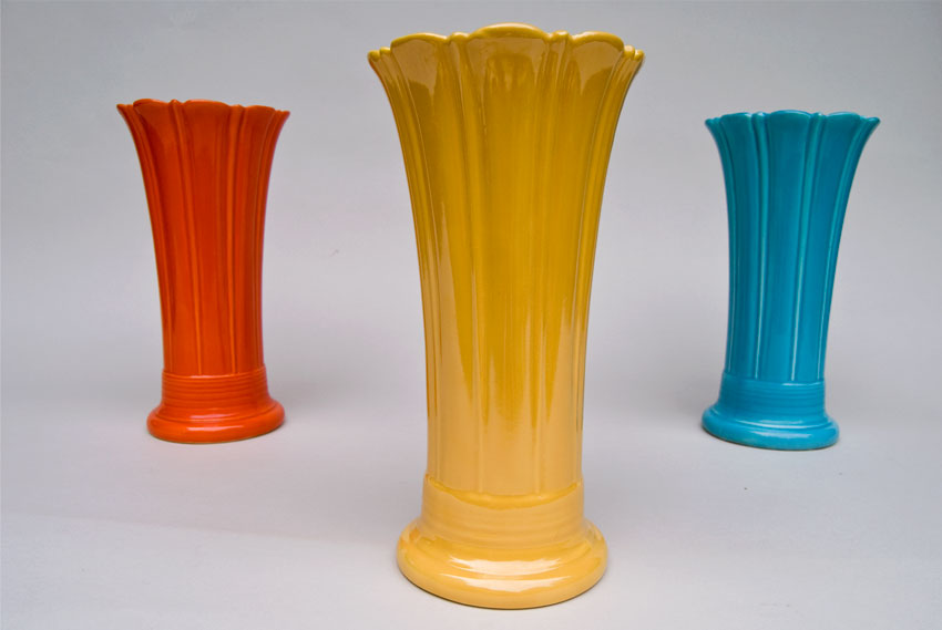 Vintage Fiesta 10 inch Original Yellow Fiestaware Pottery