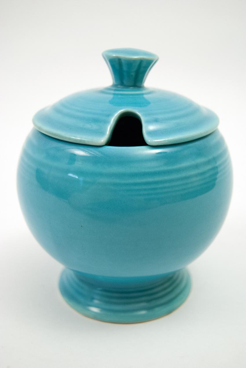 Vintage Fiestaware Original Turquoise Fiesta Pottery