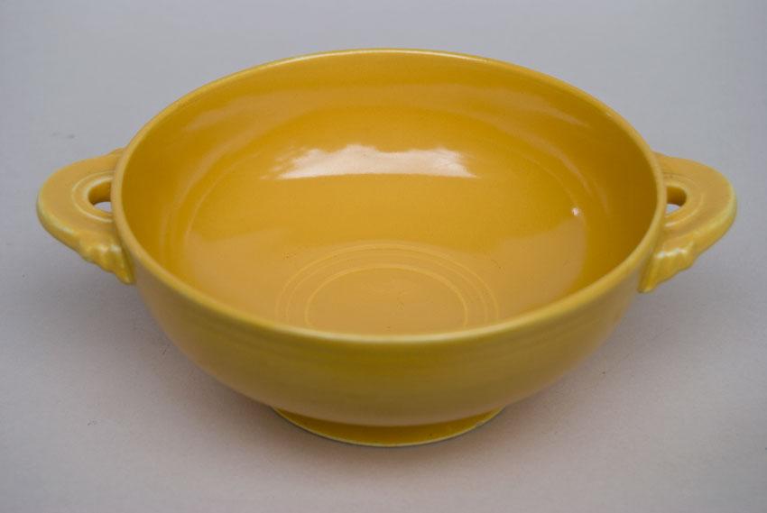 Vintage Fiesta Cream Soup Bowl Original Yellow Fiestware