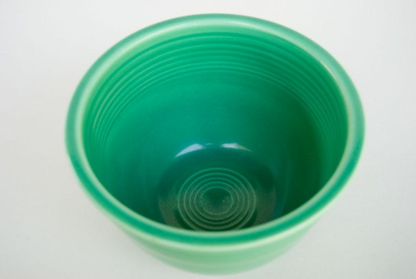 Vintage Fiestaware Nesting Bowl: Original Green Mixing Bowl with ...