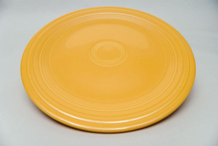 Vintage Fiesta Yellow 10 Inch Dinner Plate Fiestaware Pottery Vase Gift Rare Hard ...  sc 1 st  Vintage Fiesta Pottery & Vintage Fiesta Pottery 10