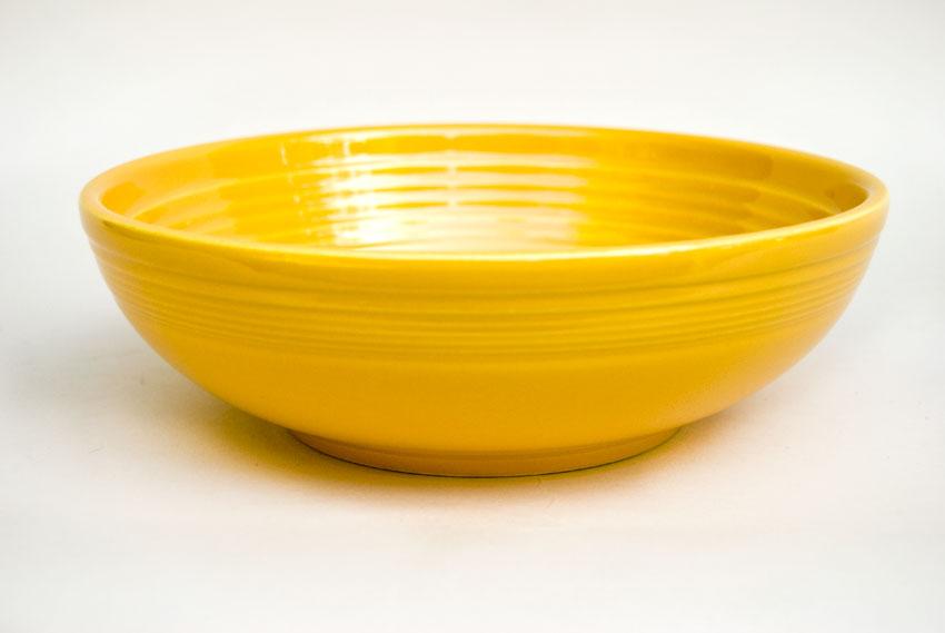 Vintage Yellow Fiesta 77