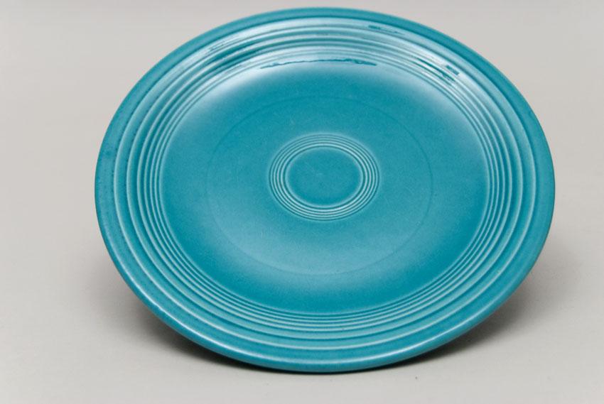 Vintage Fiesta 50s Gray 7inch Salad Plate Fiestaware