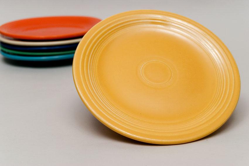Vintage Fiesta Yellow 7inch Salad Plate Fiestaware