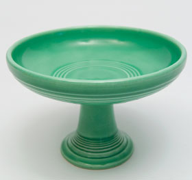 Fiestaware Vintage Original Turquoise Sweets Comport FIesta Pottery For Sale