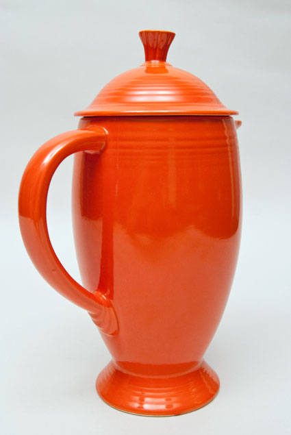 vintage fiesta coffeepot antique fiestaware pottery original radioactive red for sale 16 Is Coffee Radioactive