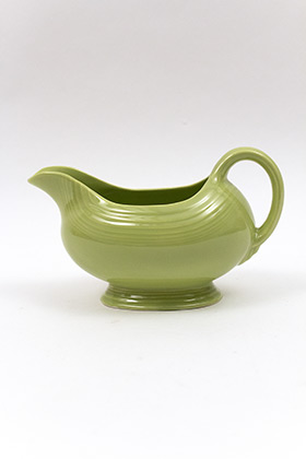 50s Chartreuse Vintage Fiestaware Sauce Boat For Sale
