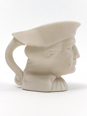 George Washington Head Bust Pottery American Potter Homer Laughlin 1939 New York Worlds Fair