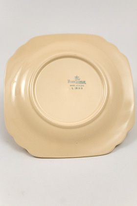 1938 Vintage Mexicana Decalware Bread and Butter Plate