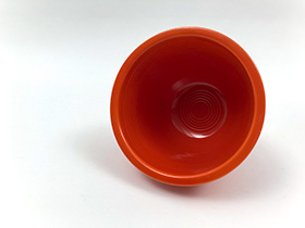 Red Fiesta Number One Nesting Bowl with Inside Bottom Rings