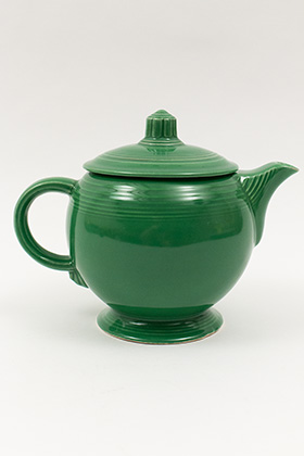 Medium Green Fiesta For Sale: Vintage Fiestaware Teapot